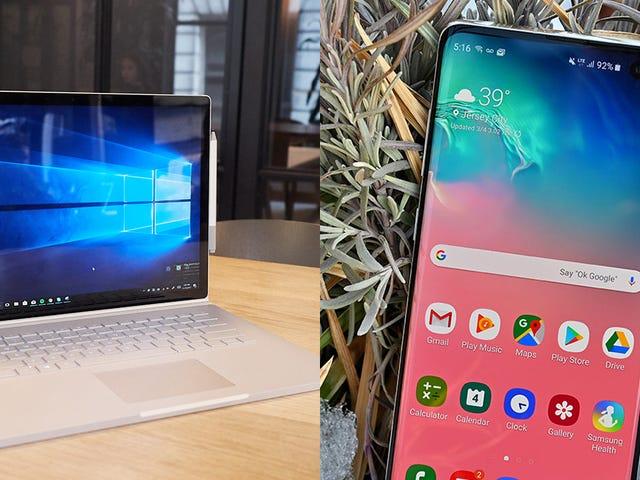 5 maneiras que seu telefone ainda não pode bater seu laptop
