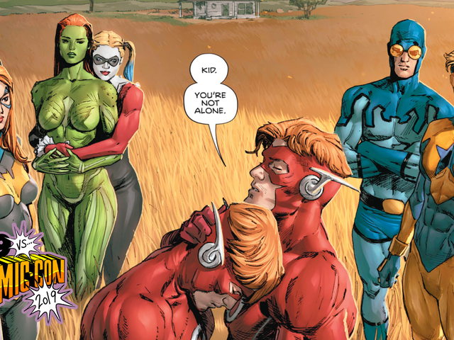 Tom King and Mitch Gerads Stand By Heroes In Crisis' Polarizing Finale