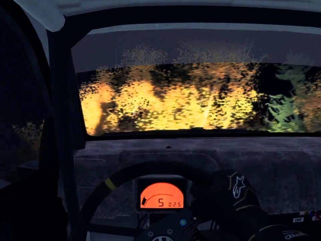 Set the 21st-fastest time in the world on a Dirt: Rally stage!!