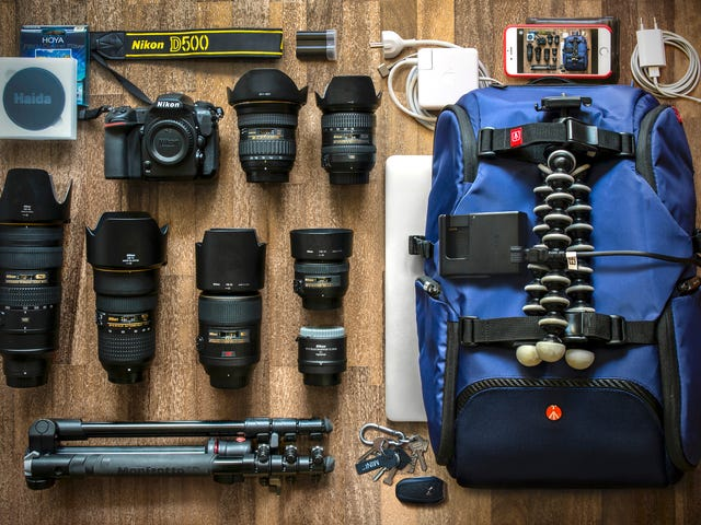 A Traveling Photographer's Picturesque Bag