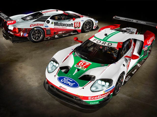 At last, the Ford GT GTE finally gets some cool threads