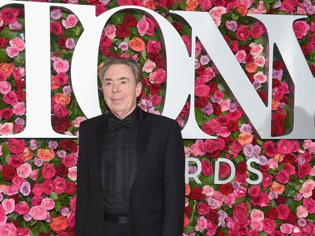 Andrew Lloyd Webber Is Making a Cinderella Musical