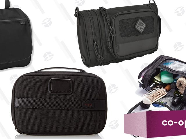 These Are Your Four Favorite Travel Toiletry Bags
