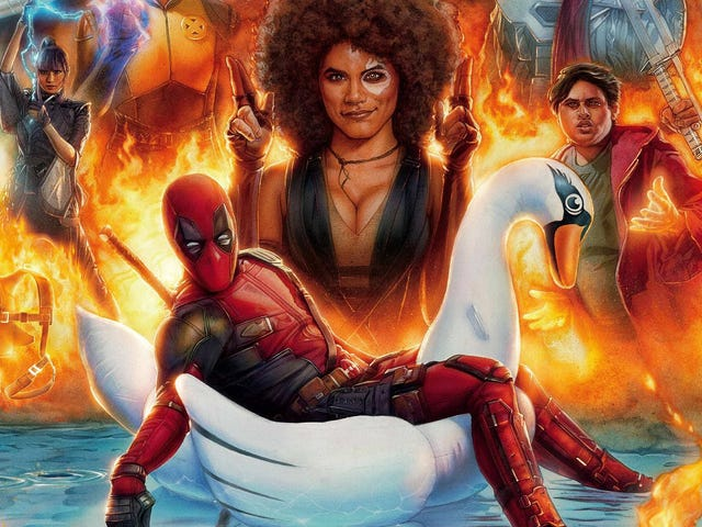 <i>Deadpool 2</i> inte ensam med det ursprungliga, también es más divertida