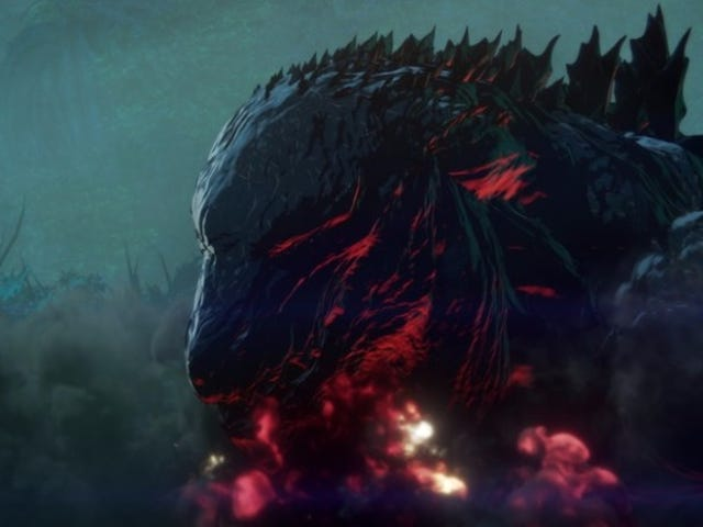 The New Anime Godzilla Movie Cukup Bagus