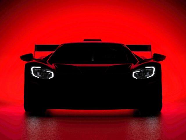 Форд мог готовить Racy Le-Mans-вдохновленную версию Ford GT