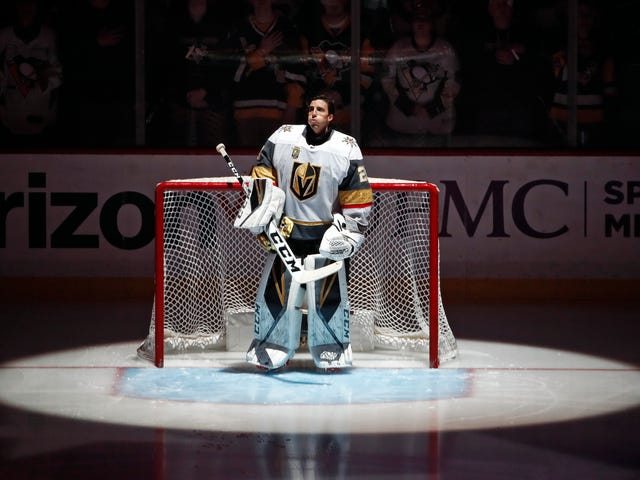 Marc-Andre Fleury's Return To Pittsburgh Was A Big Lovefest