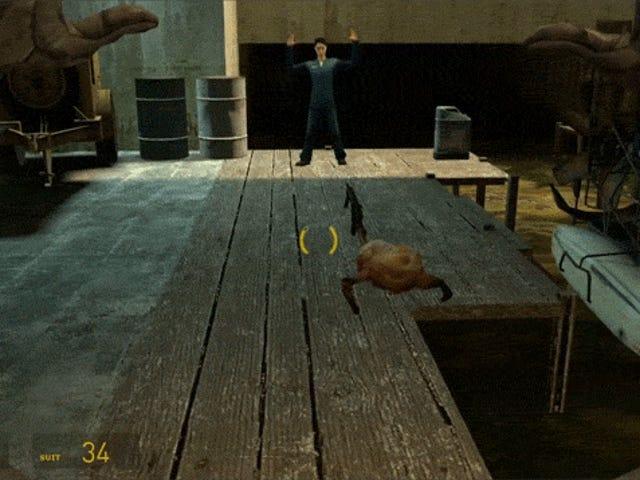 Nagbibigay ang Fan ng <i>Half-Life 2</i> &#39;s Headcrab sa Isang Gun-Wielding Criminal