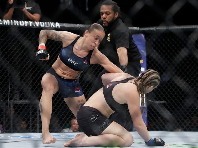 Aspen Ladd Follows Nightmare Weigh-In With Nightmare 16-Second Knockout Loss