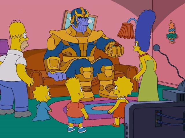 Thanos đã đến với Simpsons, bởi vì đó chỉ là những gì <i>The Simpsons</i> bây giờ