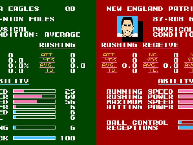 It's Time To Simulate The Super Bowl In Tecmo Super Bowl