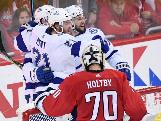 The Lightning Scored Three Beautiful Goals And The Capitals Only Scored Two