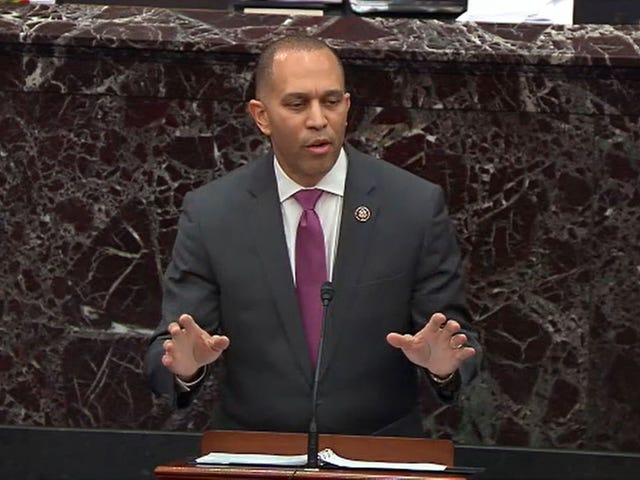 Never Thought Hip-Hop Would Take It This Far: Rep. Hakeem Jeffries Drops B.I.G. Lyric During Impeachment Trial
