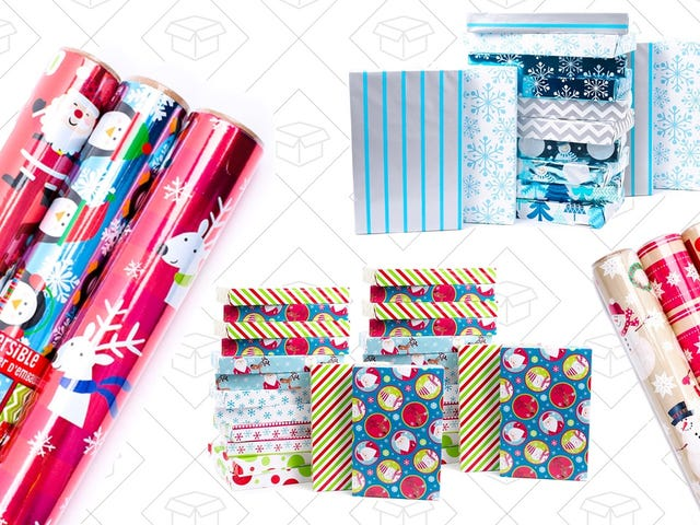 Tear Into Savings on Select Hallmark Wrapping Paper