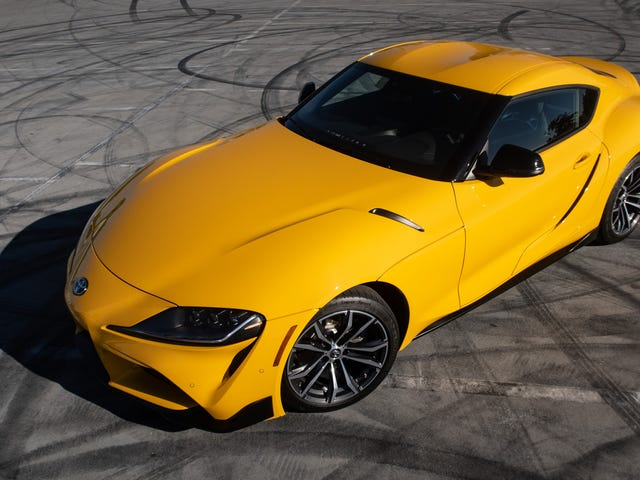 The Four-Cylinder Supra Is Just OK