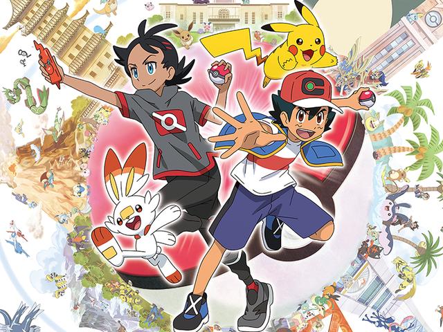 新的《Pokémon》系列与Ash一起拥有新的主角