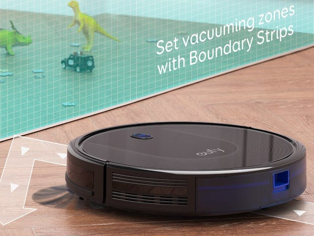 Vacuuming Sucks, But This $160 RoboVac Doesn't, Except In the Good Way