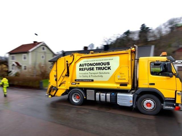 Volvo Has Deployed An Autonomous Garbage Truck