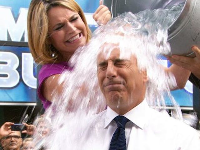 Pouring a Bucket of Ice Water Over Your Head Won't Cure ALS