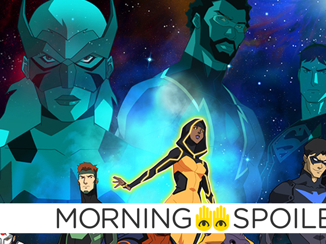 Our First Good Look at Young Justice's Next Season