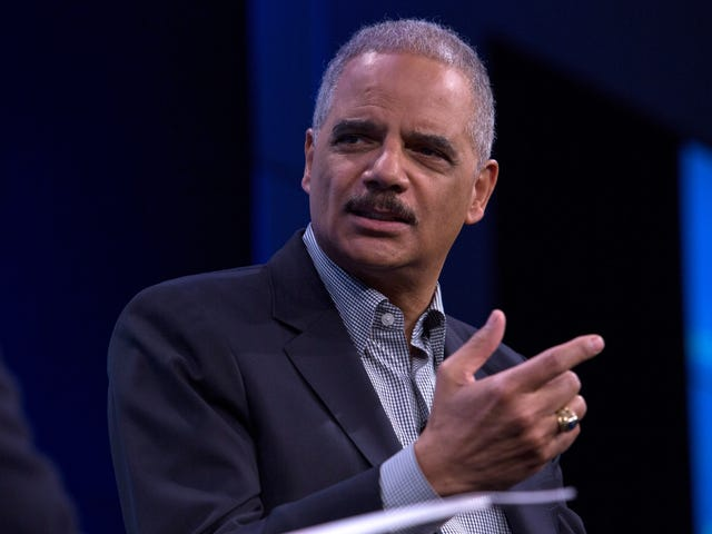 Eric Holder Says He Will Not Be Running For President, but He Will Help to Elect the 'Right' Democrat