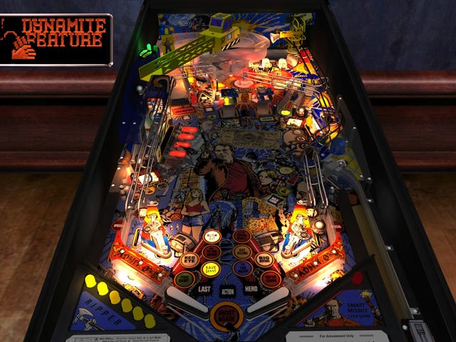 Down The Drain - Pinball Arcade's Tables Through The Ages: The 90's (Stern)