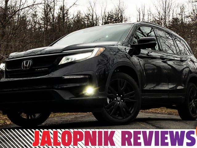 El 2020 Honda Pilot Black Edition es perfecto para practicantes prácticos