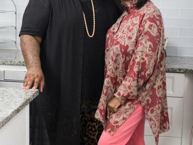 Patti LaBelle og James Wright Chanel til Air Holiday Cooking Special