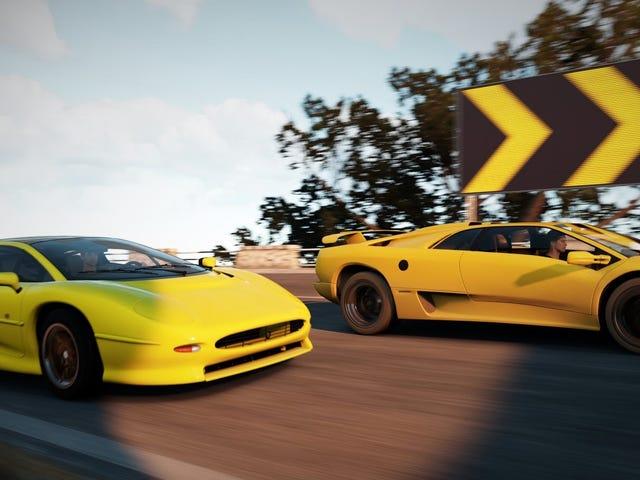 Los coches más potentes de los años 90