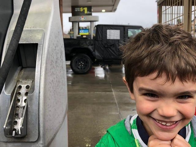Dit Jeep Wrangler Pickup Prototype heeft de verbeelding van Morgantown, West Virginia, gevangen