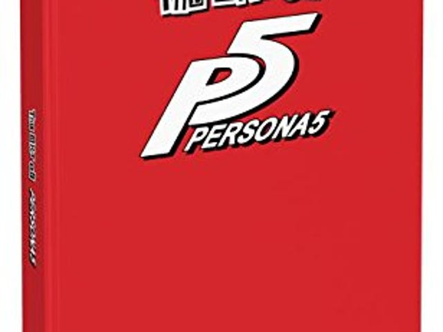 The Persona 5 Artbook is coming out in English