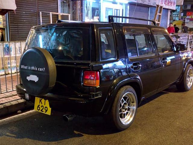 Ce Troll de Hong Kong ne pense pas que vous pouvez adorer sa voiture