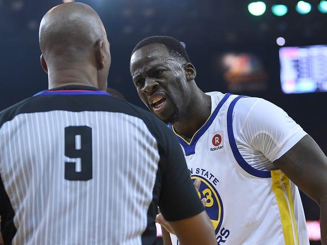 Draymond Greenは、NBAが現在のレフリーをすべて置き換えることを検討すべきだと述べている