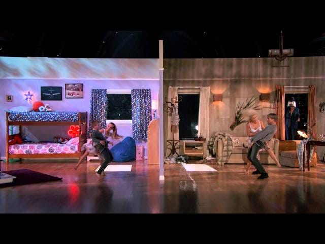 """Aqui está Derek e Julianne Hough Dançando ao """"Coração Elástico"""" de Sia"""
