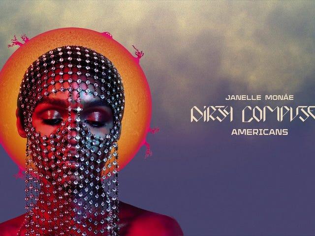 Track: Amerikaner |  Künstler: Janelle Monae |  Album: Schmutziger Computer