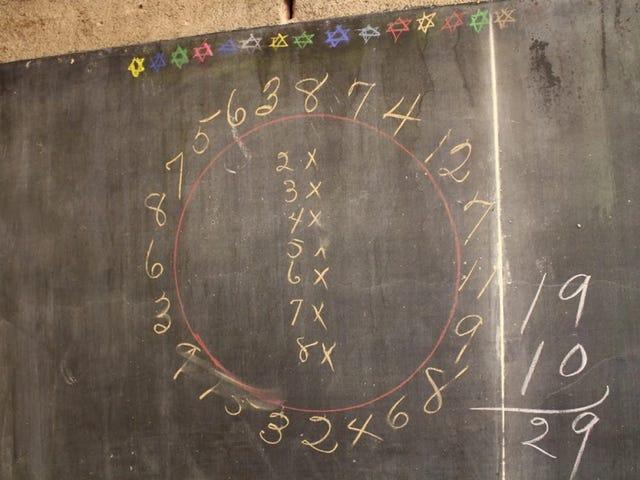Disegni di lavagna misteriosi mostrano la vita nelle scuole dell'Oklahoma a 98 anni fa