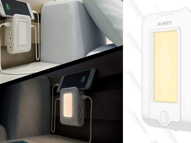 This $14 Surge Protector Is Also a Night Light