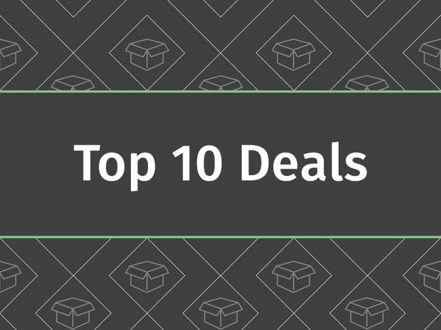 De 10 beste deals van 1 maart 2018