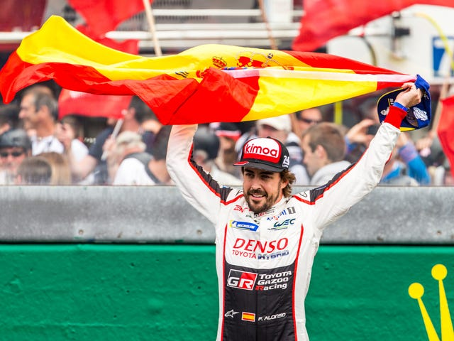 Brace Yourselves Because Alonso Is Going Back To Indy And Alonsomania Is Just Getting Started