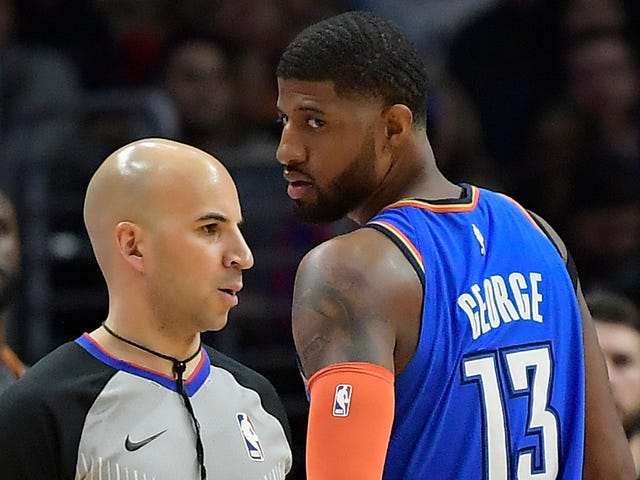 "Paul George Believes The Thunder ""Haven't Gotten A Fair Whistle All Year"""