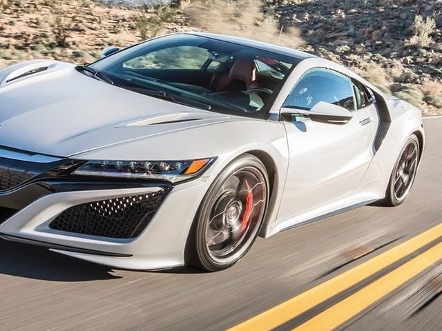 Honda veut beaucoup plus de versions de la NSX