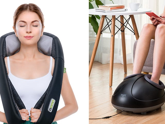Treat Yourself to Great Prices On Two Mynt Electric Massagers