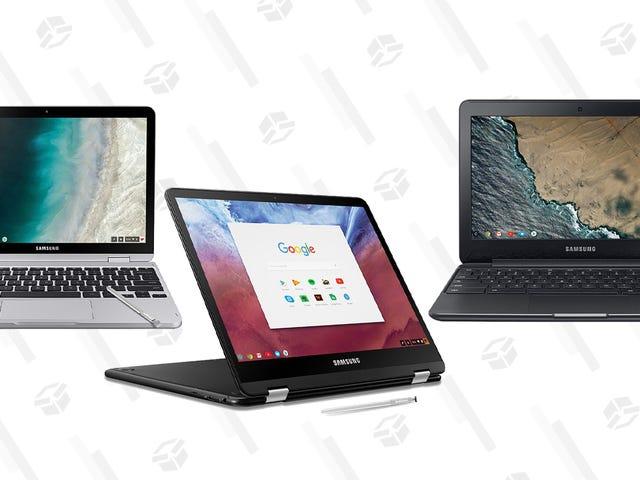 Los mejores Chromebooks fra Samsung er ikke længere tilgængelige