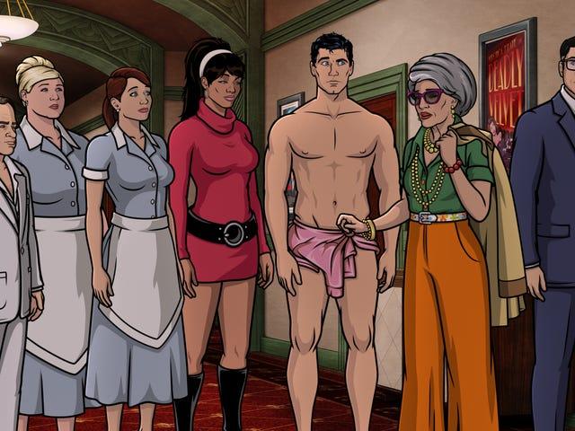 11 tập phim Archer đã giúp làm cho chương trình được yêu thích