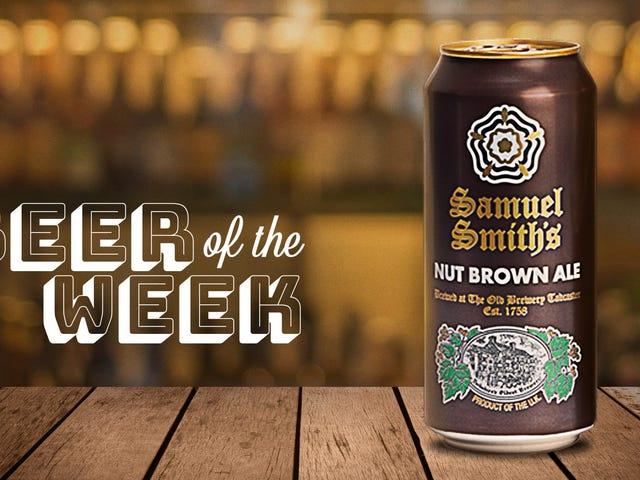 今週のビール:サミュエルスミスのナッツブラウンエールは最高の食品ペアリングビールの1つです