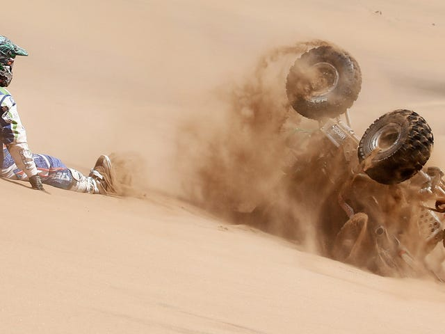 The Best Pictures Of Dakar Rally: Day 4
