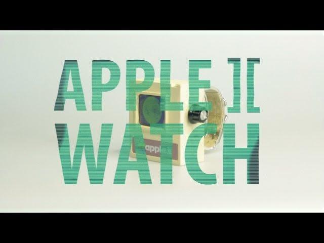 Build Your Own Apple II Lookalike Watch