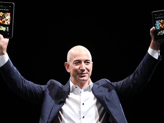 Jeff Bezos มีวันลาที่ดี
