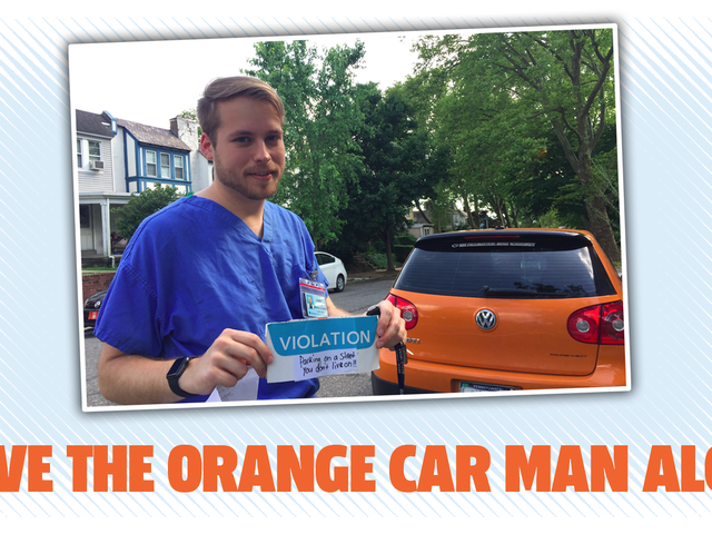 Philly jest miastem braterskiej miłości Chyba że twój brat najwyraźniej jeździ pomarańczowym samochodem