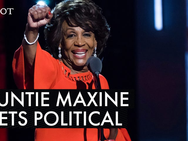 Maxine Waters Calls Donald Trump a 'Bluffer' Ahead of the State of the Union Address